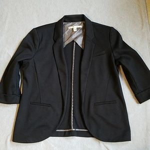 Black Lauren Conrad blazer jacket